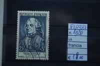 FRANCOBOLLI FRANCIA USATI N°1030 (F10387)