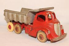 1930's Hubley Cast Iron Dump Truck, Large Size, Nice Original