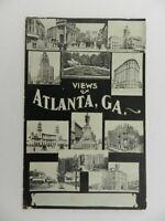 Vintage 1908 Posted Postcard Views of Atlanta GA Multi Picture