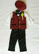 Traditional Welsh Boys Fancy Dress Costume, 1-2 & 2-3 Years. National Dress