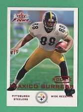 2000 Fleer Focus RC Plaxico Burress Pittsburgh Steelers #212 35/1999 (KCR)