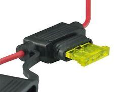 1x KFZ-Sicherungshalter ATC ATO 2,5mm² max 20A für Flachsicherung Halter *NEU*