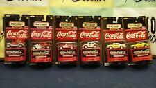Cola-Cola Matchbox Premiere Collector 6 Club Vehicles complete set 1:64 scale