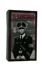 In The Past Toys (ITPT) WWII German Officer in Black Uniform NIB