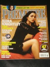PREMIERE magazine 2004, Keira Knightly, Johnny Depp, Harry Potter, Ghostbusters