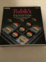 Rubik's Magic Strategy Board Game Vintage 1987 Complete Matchbox Rubiks Cube Toy