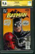 Batman 638 CGC SS 9.6 Jason Todd revealed as Red Hood 1st Print Cover 5/05