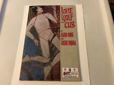 LONE WOLF and CUB First Comics TPB #16 - Aug 1988!