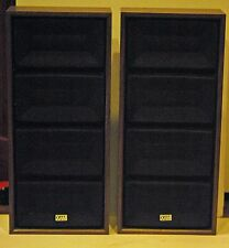 TWO XAM VINTAGE SPEAKERS BY KORVETTES PRODUCTS