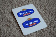 Rothmans Racing Motorsport Race Rally Car Race Decal Stickers Logo Badge 50mm