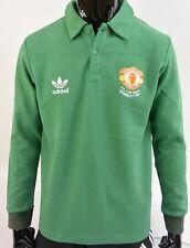 F.A. Cup Final Wembley 1985 adidas Manchester United Rare Goalkeeper GK Shirt /M