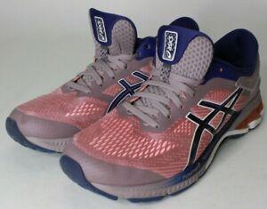 ASICS 1012A457  Womens Gel-Kayano 26 Navy Violet Blush Pink Size 10.5