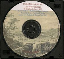 Prehistoric America - Five Illustrated Volumes