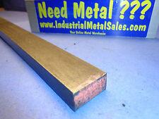 """3/4"""" x 1-1/2"""" x 12""""-Long 4130 Steel Flat Bar->.750"""" x 1.5"""" 4130 Flat  MIL-S-6758"""