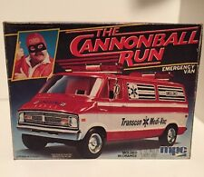 MPC THE CANNONBALL RUN DODGE VAN 1/25 1981 F/S Burt Reynolds Dom Deluise USA!