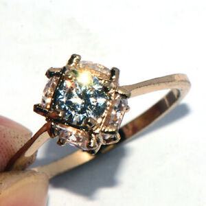 """""""Magic Ball"""" Ring for Womens Female Gold Filled Full Crystal Stones Woman Ring 8"""
