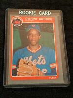 1985 Dwight Gooden 82 Fleer Rookie Baseball Card MLB