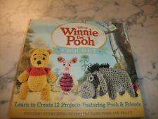 Nib- Disney Winnie The Pooh Crochet Kit Create 12 Projects Of Pooh & Friends