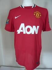 MANCHESTER UNITED Camiseta Local 11-12 #19 NIKE TALLA M 231G