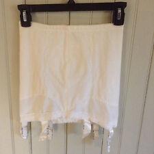 Vintage 2500 Subtract open bottom girdle w/ 6 garters  size 30