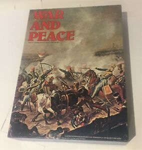 Avalon Hill WAR AND PEACE Napoleonic Wars board game