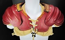 Vtg Football Shoulder Pads A.J. REACH Brand Model 261 SP Display Prop Decor
