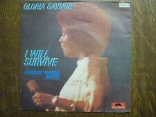 GLORIA GAYNOR 45 TOURS BELGIQUE I WILL SURVIVE