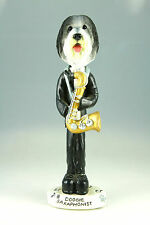 SAXAPHONE BEARDED COLLIE-SEE INTERCHANGEABLE BREEDS & BODIES @ EBAY STORE