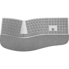 Microsoft Surface Ergonomic Keyboard Gray - Wireless - Bluetooth - QWERTY Key La