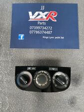 VAUXHALL CORSA D BLACK CLIMATE HEATER CONTROL UNIT WITH AC 2006 - 2014