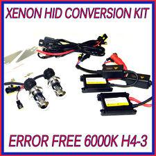 SAAB h4-3 kit di conversione HID LAMPADINE FARO ANTERIORE XENON 6000K