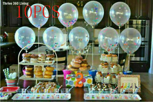 "10pcs 12"" Birthday Wedding Party Decor Latex Helium Quality Balloons New Fashion"