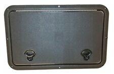 """DPI Marine 13"""" x 20"""" Flush Series Hatch/Door Black"""