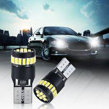 4x Bombillas 24 LED T10 W5W SMD Luz Blanca Xenon Coche Interior Posicion CANBUS