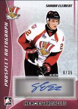 ET) 2016-17 ITG Heroes and Prospects Prospect AUTO Red Shawn Element #8/35