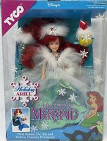 ✿ܓ Doll TYCO Little Mermaid Ariel the Beautiful Bride 1991 White Flat Shoes ✿ܓ