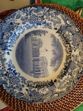 Wedgwood Mit Massachusetts perfect 1930 Collector Plate West Plylons Dupont