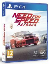 Need for Speed Payback  PS4  PAL ESPAÑA NUEVO ESPAÑOL CASTELLANO