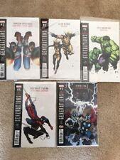 MARVEL COMICS Generations 5 ISSUE LOT HULK WOLVERINE SPIDER-MAN CAP AMERICA
