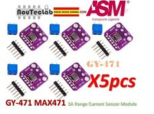 5pcs GY-471 3A Range Current Sensor Module MAX471 Module