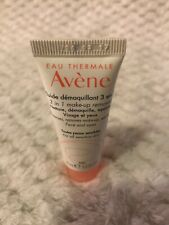 Avene 3 In 1 Face &  Eye Makeup Remover 15ml 0.5oz Travel Size Sample Sensitive