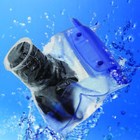 Waterproof DSLR SLR Camera Underwater Housing Case Pouch Dry Bag Canon  R1BO