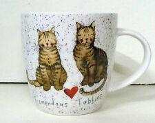 Alex Clark Fine China Squash Mug - Cat - Tremendous Tabbies- Full Range in Stock