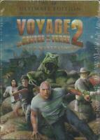 Voyage au Centre de la Terre 2 L'île Blu-Ray + DVD boîte métal Neuf sous blister