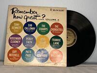 Remember How Great Vol 2 Vinyl LP