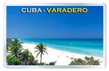 CUBA VARADERO FRIDGE MAGNET SOUVENIR IMAN NEVERA