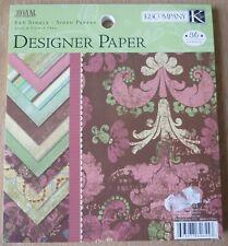 "K&Co Designer paper pad 6"" x 6"" Roam, 36 sheets"