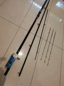 1xQUIVER-X 3 Tips 3 Section Whiting/bream/mulet Rod 3.9m 1-3kg $48freeshipping