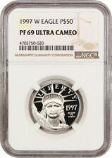 1997-W Platinum Eagle $50 NGC PR 69 UCAM - Proof American Platinum Eagle
