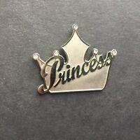 DLR - Princess Crown Silver Disney Pin 4942
